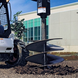 Bobcat Auger Attachment