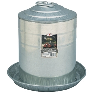 Miller Manufacturing Galvanized Poultry Waterer