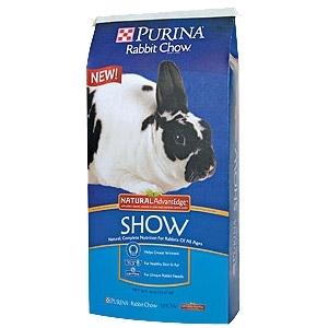 Purina® Rabbit Chow™ Show Natural AdvantEdge™