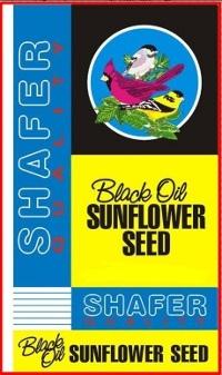 Shafer Sunflower Black Oil 50 lb. Bag $18.88