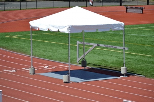 Tent, White Canopy 10' x 10'