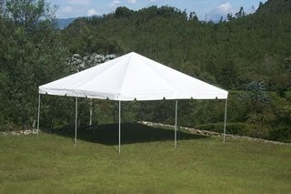 Tent, White Frame 20' x 20'