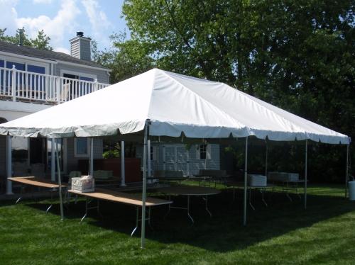 Tent, Frame 20' x 30'