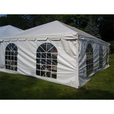 Tent Side Curtain w/ Windows