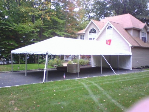 Tent, White Frame 20' x 40'