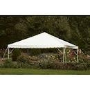 20X20 White Frame Canopy Tent