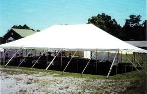 Anchor 40 x 80 pole tent