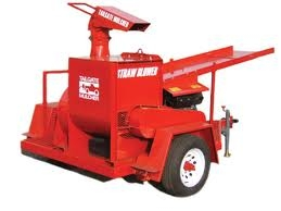 Straw Blower Towable 18hp