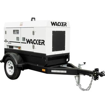 Wacker G 25 Mobile Generator