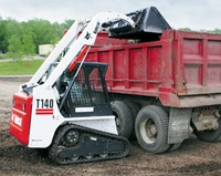 Skid Loader with Tracks