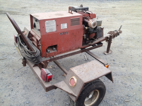 Lincoln Gas Arc Welder Generator