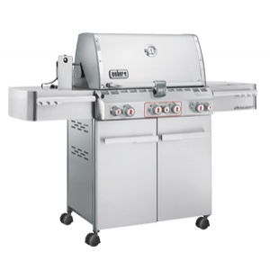 Weber Summit S-470 Stainless Steel LP Gas Grill