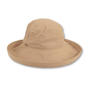 Big Brim Winner Hat- Taupe