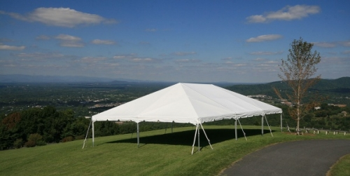 40' Wide Navi-Trac Frame Tent