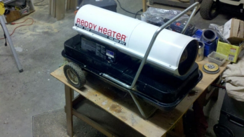 150,000 Kerosene Heater