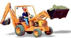 Backhoe Loader - Allmand Tractor / Loader / Backhoe