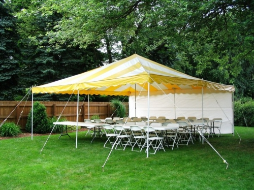 20'x20' All Purpose Canopy - Do-It-Yourself tent