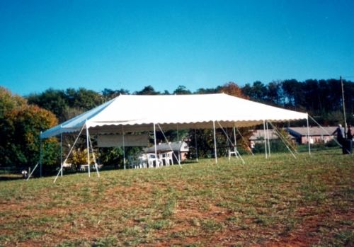20'x40' All Purpose Canopy -  Do-It-Yourself tent