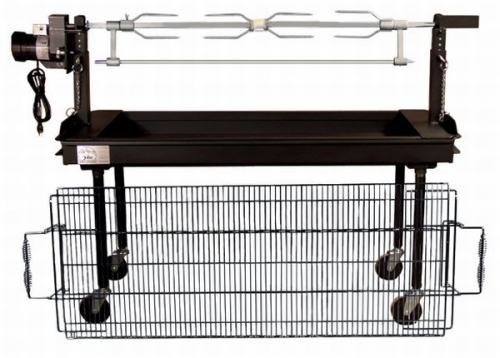 5' Rotisserie with Charcoal Grill
