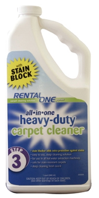 1/2 Gallon Carpet Cleaner