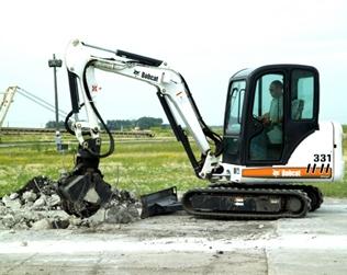 Bobcat Mini Excavator 331