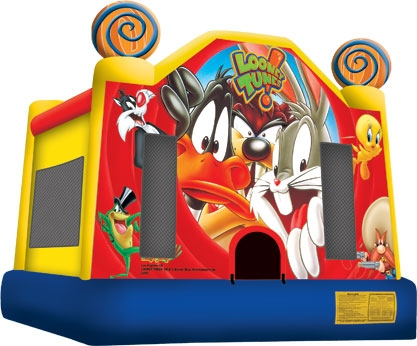 Looney Tunes Bounce House 13'x13'
