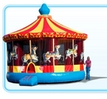 Amusement - Inflatable Carousel