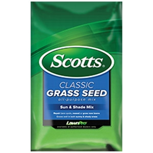 Scotts® Classic Sun & Shade Mix Grass Seed
