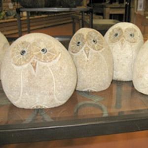 Stone Owls