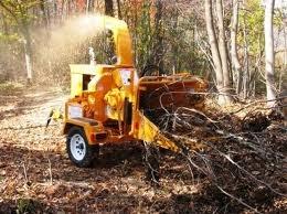 Wood Chipper, 6 inch 30 hp