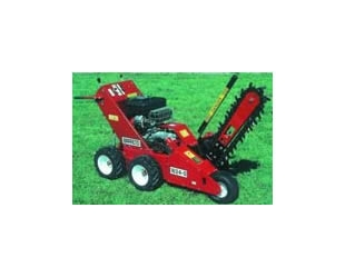 Trencher 4 Wheel Hydraulic Drive