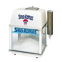 Concession Sno Kone Machine