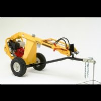 Hydraulic Earthdrill, towable