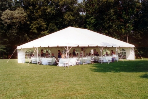 Tent Frame 20 X 20 White Taylor Rental Center Of