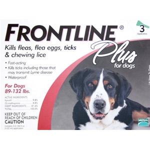 Frontline Plus Flea and Tick Medication