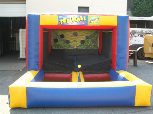 Game, Inflatable T Ball