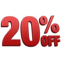 Calendar Coupon: 20% off Fall Bulbs