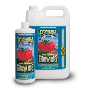 Grow Big® Hydroponic Liquid Plant Food (3-2-6)