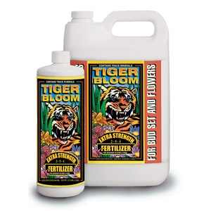 Tiger Bloom® Hydroponic Liquid Plant Food (2-8-4)