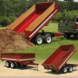 U-Dump Dump Trailer 6x10 Bumper Pull