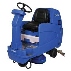RIDE-ON FLOOR BUFFER/CLEANER