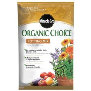 MiracleGro Organic Choice Potting