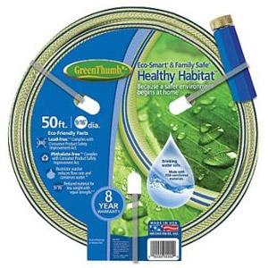 Green Thumb Healthy Habitat Eco Safe Hose - 50 ft.