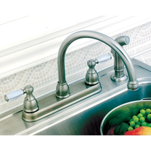 Delta 2 Handle Kitchen Faucets delta 2 handle kitchen faucet | morristown lumber