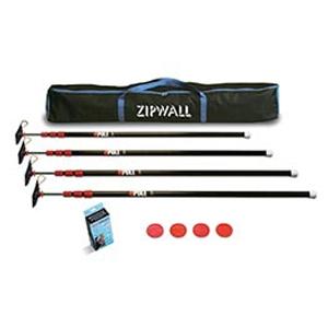 ZipWall 4 ZipPole Pack