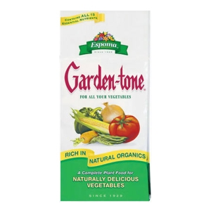 Garden-Tone All Natural Vegetable Food