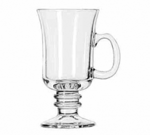 Galss Irish Coffee Mug