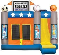 All Sport Inflatable  4-in-1 Bounce House