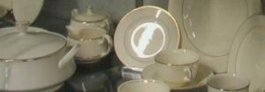 Ivory Dinnerware Salt & Pepper Shakers
