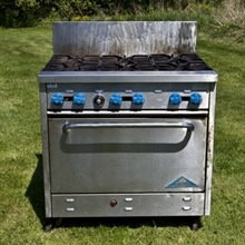 Outdoor Stove - 6 Burner